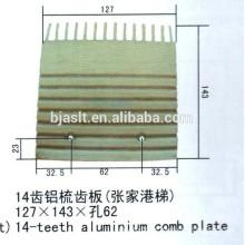 22-dentes alumínio pente chapas / escada rolante peças