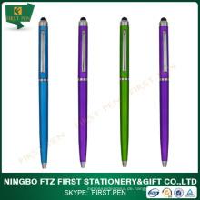 Günstige Werbung Slim ABS Kunststoff Stylus Pen