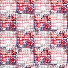 100% Polyester Imprimé Satin Tissu (PFF-048)