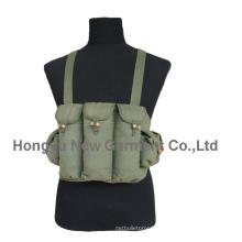 Военный холст Ak47 Пуля Тактический сундук / жилет (HY-V043)