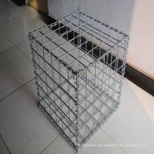 Fornecimento de aço cesta de Gabião / malha de Gabião soldada