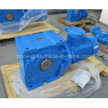 Caja de engranajes helicoidales helicoidales serie S