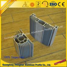 Dissipador de calor de alumínio para perfil de extrusão de alumínio 6063 T5