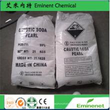 Гидроксид натрия / каустическая сода 99% и 96% / хлопья / жемчуг / твердое вещество
