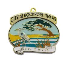 Wholesale Custom Design Promotion Metal Craft Souvenir Medal