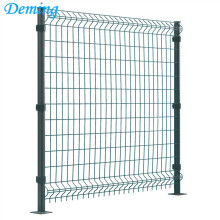 3D Fence Panel With Square Post