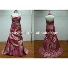 плиссированная длинная элегантный королевский синий платья невесты
