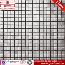 conception du magasin Carrelage mosaïque en acier inoxydable argenté