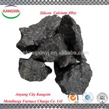 Produit d'alliage de calcium de calcium, alliage de Sica, Si36-63%, Ca10-35%