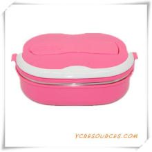 Hot Sale Plastic Lunch Box for Promotional Gifts (HA62012)