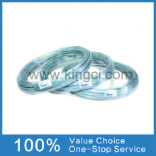 High carbon galvanised steel wire