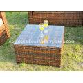 Hot Sale Outdoor Pátio Rattan / Wicker Sofá Mobiliário de Jardim