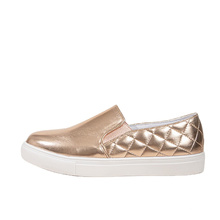 2021 new Breathable outdoor Comfortable rose gold casual shoes woman fashion loafers shoes platform trendy shoes