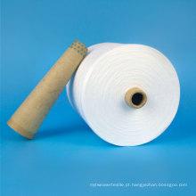 Venda de alta qualidade 100 fio de poliéster matéria-prima 20s-60s linha de costura
