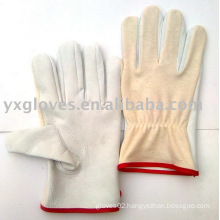 Driver Glove-Leather Driver Glove-Safety Glove-Working Leather Gloves