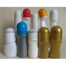 Bouteille en plastique de rouleau de boule de petit pain de médecine liquide d'OEM