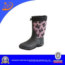 Mariposa damas impermeabilizan botas de goma (66311)