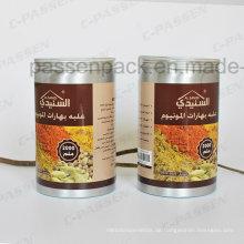 2L Food Grade Aluminium Jar für Gewürzverpackungen