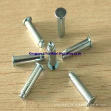 Remaches de la galjanoplastia de la aleación del cinc para el uso extenso