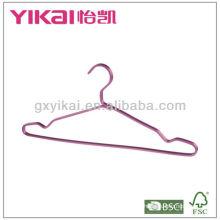 Алюминиевый вешалка для одежды с вырезами и брюками