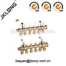 F613 Colector de latão para sistema de aquecimento
