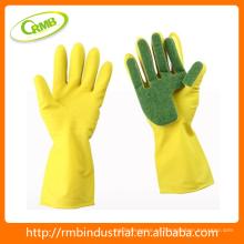 Guantes limpios para las manos