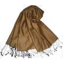 Классический двухцветный цвет 60% шелк 40% акрил шелковый платок