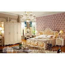 Klassisches Hölzernes Schlafzimmer-Möbel-Set (HF-MG821)