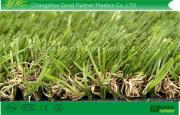 High Color Fastness Synthetic Garden Artificial Turf with N