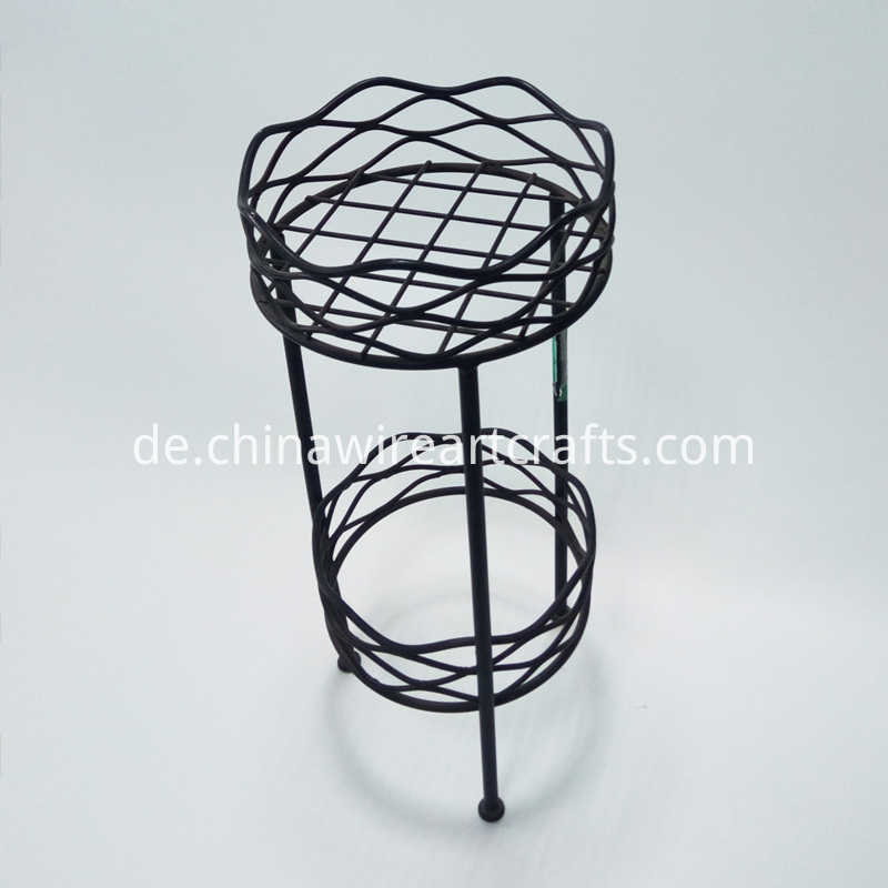 Metal Chair Design Flower Planter Holder