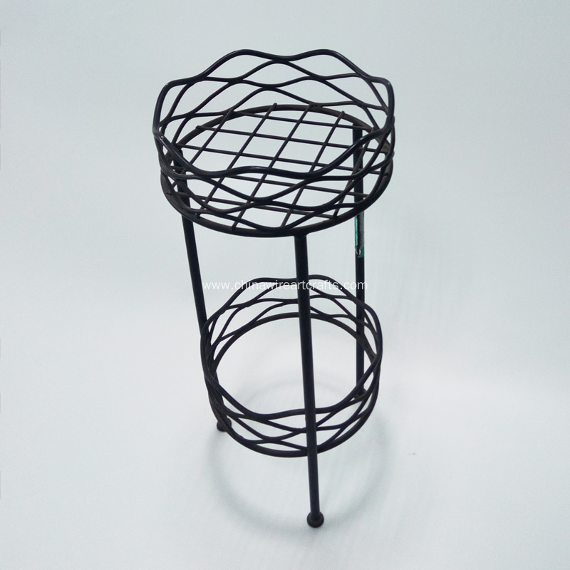 Metal Wire Planter Holder For Garden Decoration