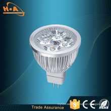 Hot Sale 4*1W 40W Silver LED Spotlight
