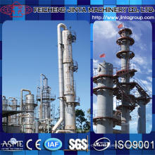 Distillation Plant Industrial Edible Alcohol Distillation Equipment Plant 96.5% Bm20140120s-26000