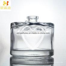 Bouteille en verre de parfum de mode de prix usine