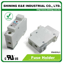 FS-031L1 en línea RT18-32 10x38 110V titular de fusible de alto voltaje