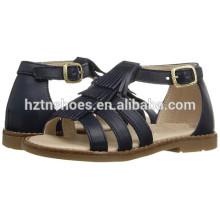 2016 verão mais recente sandália sapatos crianças meninas moda plana sandálias
