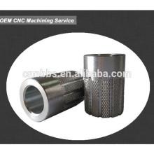 CNC machined Aluminum splined aluminum bushing