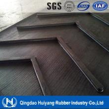 ИСО сертифицировать Н ЕР/КС холст Материал EPDM шеврон жаропрочных ленточный конвейер для бетона