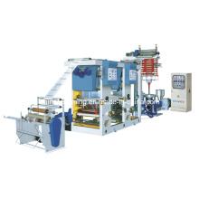 PE de alta velocidad de la película de soplado y máquina de impresión