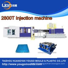 Taizhou plastic double face injection pallet mould machine