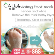 Masque exfoliant professionnel de pied soyeux OEM