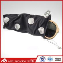 Diseño personalizado de microfibra impresa bolsa de gafas