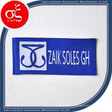 Etiqueta tejida suave de alta densidad para la etiqueta de la ropa