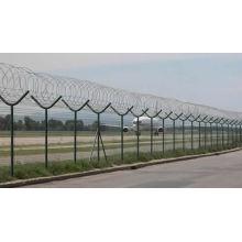Valla de aeropuerto o red de protección de seguridad