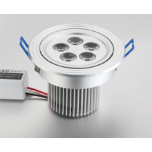 SY LED Downlight LED de alimentación 5X1W