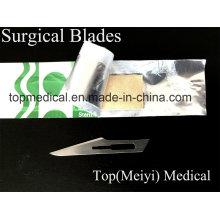 Хирургический клинок - углеродистая сталь / нержавеющая сталь
