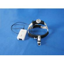 Luz de cabeza médica con batería recargable