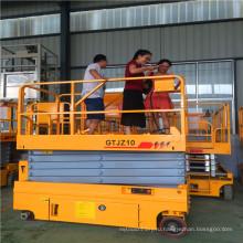 14м Qyjz-14к самоходные scissor Лифт