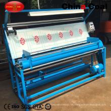 Medición e inspección Farbic Rolling Machine