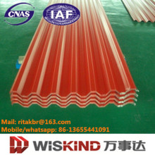 Single PPGI Corrugated Roofing Sheet Manufactured by Wiskind